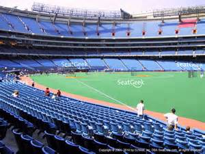 rogers centre section 114 seat views seatgeek