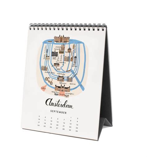 Calendar Desk General Paper Luxe Stationery Gifts