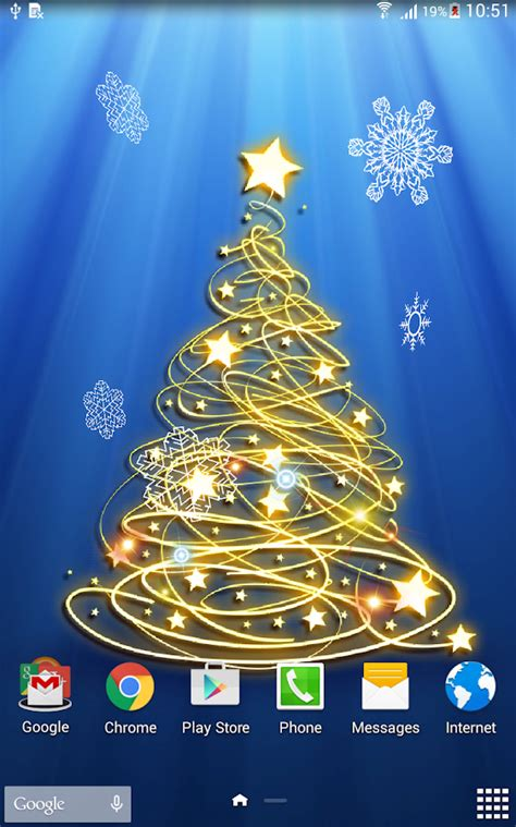 wallpaper christmas tree 3d 3d christmas tree wallpaper android apps on google play