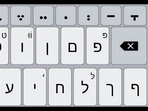 hebrew keyboards for android hebrew nikud keyboard free android apps on play