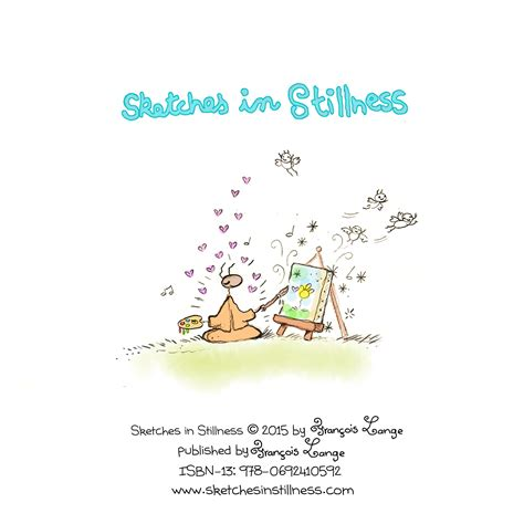 Sketches In Stillness sketches in stillness book 1 unsigned edition