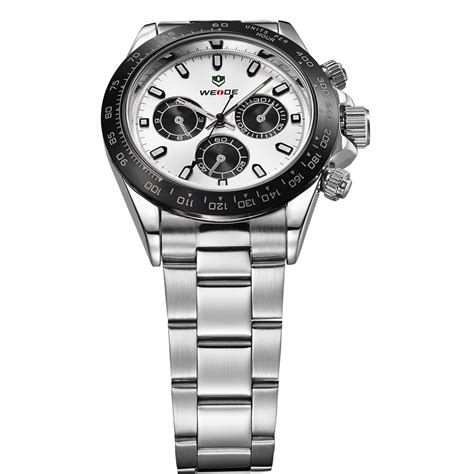 Aaf179 Weide Stainless Sports 30m Water Resist Jam Tangan Wh1101 weide japan quartz stainless sports 30m water resistance wh3309 white silver