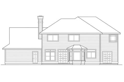 colonial house plans willmar    designs