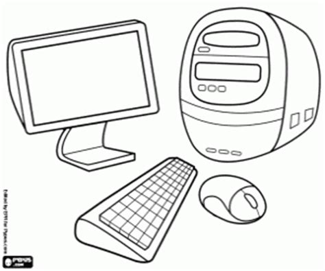 computer coloring pages printable games