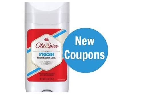 old spice deodorant coupons
