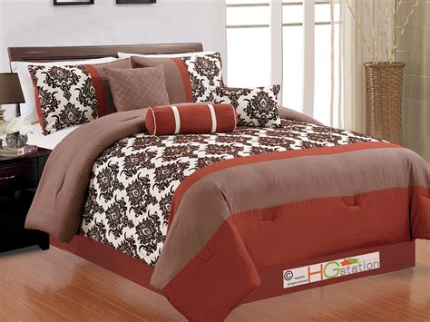 orange is the new black couch tuner rust colored comforter sets 28 images sale 8pc king