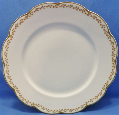 gold pattern trim lanternier limoges lnt 281 pattern scalloped gold trim