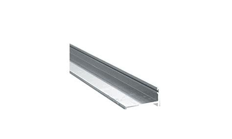 Shower Door Bottom Track Crl Brite Anodized 72 Quot Mk Series Frameless Sliding Shower Door Bottom Track Extrusion For 1 4