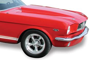 1965 1966 mustang 3 quot cowl induction mustangs plus