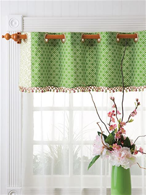 sewing kitchen patterns wave valance