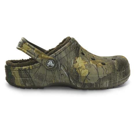 winter clogs for crocs unisex realtree xtra camo winter clogs 665561