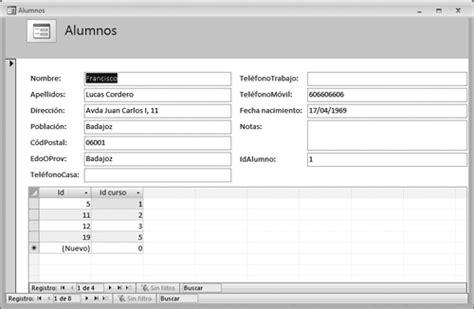 formulario 2010 who inform 225 tica base de datos formularios