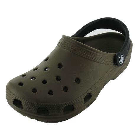 Original Crocs crocs classic mix shoe chocolate black the original croc