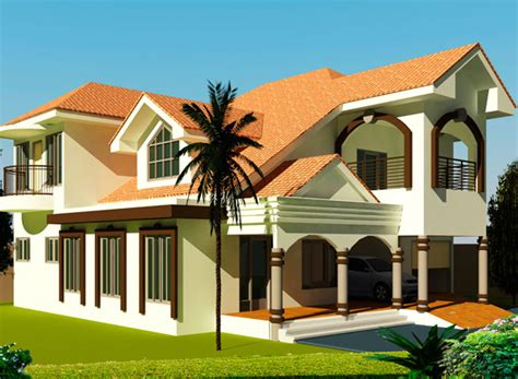 4 Bedroom Open Floor Plan by House Plans Ghana 3 4 5 6 Bedroom House Plans In Ghana