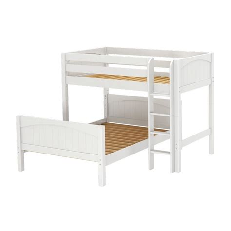 bunk beds with on bottom maxtrixkids mix wp bunk w ladder