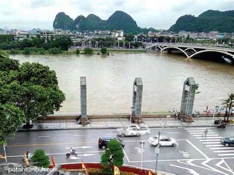 Guilin Sedang backpacking di china guilin patah tumbuh