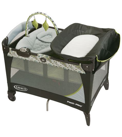 how to make a pack n play more comfortable graco pack n play playard with newborn napper station lx