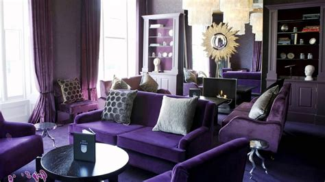 artistic interior design awesome living room art deco interior design with purple