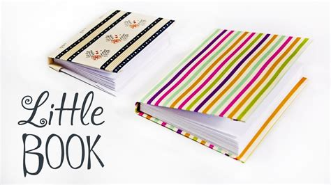 How To Make A Paper Notebook - how to make a paper book diy paper book paper
