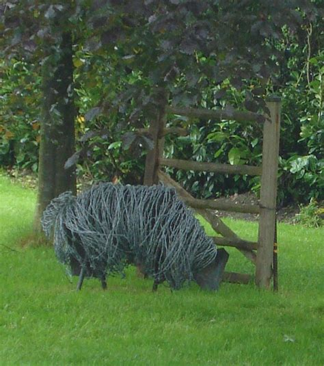 Grillage A Poule 291 by Barbed Wire Sculpture Artsy Wire