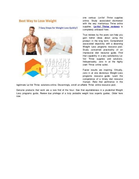 level thrive weight loss pills a online health magazine le vel thrive reviews of weight loss programs