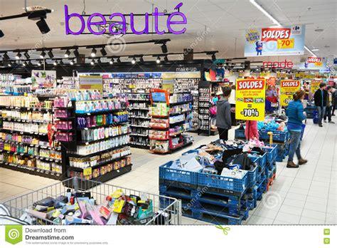 Eyeliner Hypermart drugstore department of a carrefour hypermarket editorial
