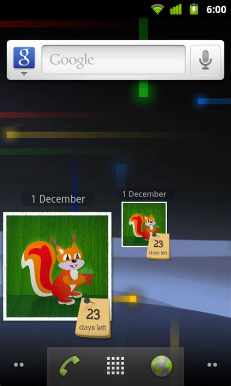 android layout xlarge landscape advent calendar 2013 widget android apps on google play
