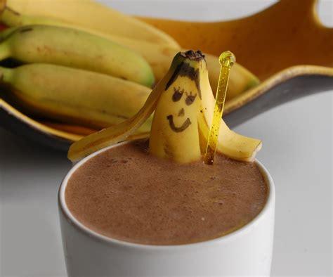 The Choco Chocolate Banana chocolate banana smoothie healthy ideas for
