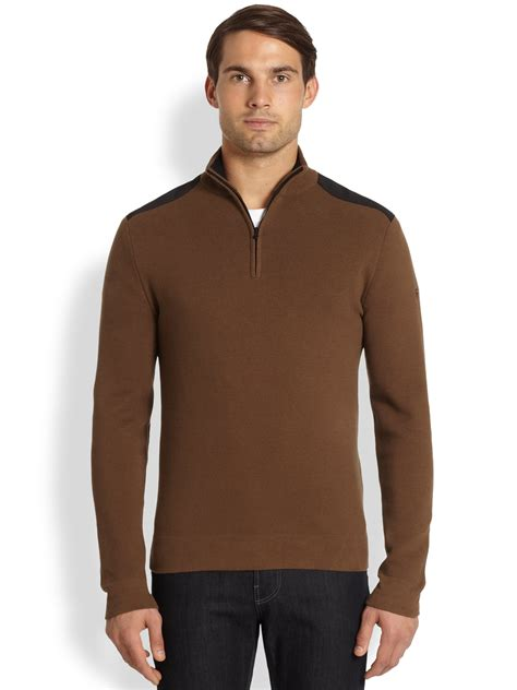Sweater Maverick By Clothing victorinox maverick sweater in brown for sand lyst