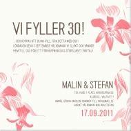 String Light Chandelier Inbjudningskort Till Fest F 246 Delsedag Jubileum Ny 229 R Kalas