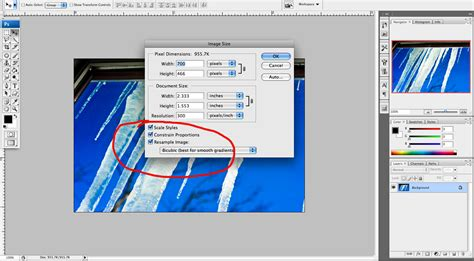 downsize image photoshop tutorial how do i maintain proportion and scale