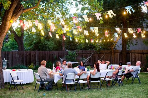 triyae ideas for backyard birthday various