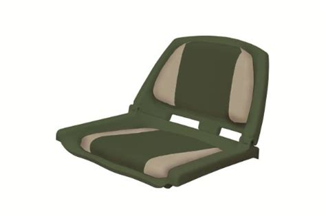 cheap folding boat seat wise plastic folding boat seat with 2 color cushions