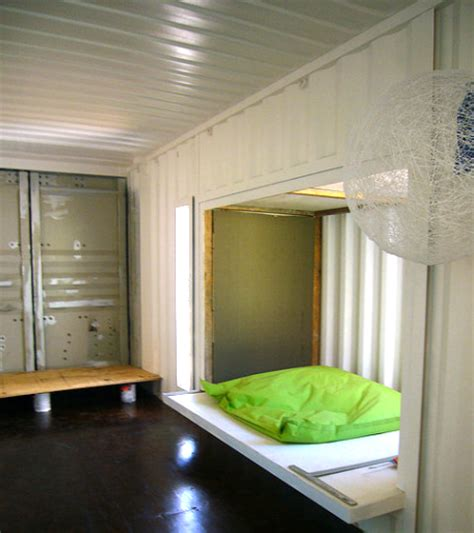 Interior Of Shipping Container Homes Container Homes Out Of The Box Thinking