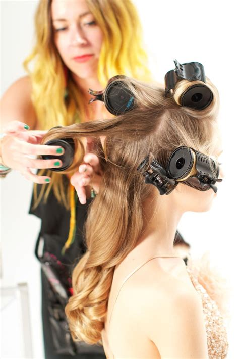 soft wavy curls with hot rollers for long hair short 39 best dress up party down images on pinterest
