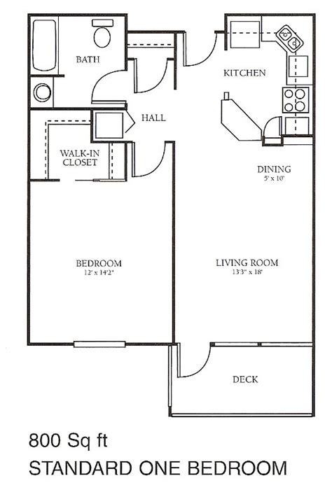 floor plans for 800 sq ft apartment independent living floor plans