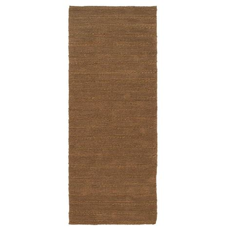 home depot rug runners home decorators collection banded jute 3 ft x 12 ft rug runner 0600250960 the