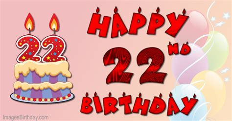 22 Happy Birthday Wishes Wishes 22 Year With Wishes Happy Birthday Picture