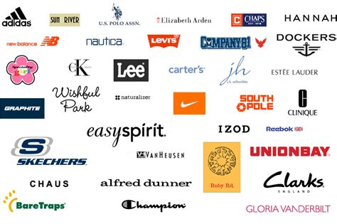9 best images of brands names clothes logos name brand
