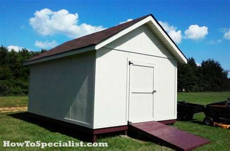 guide how to build a 12x16 shed