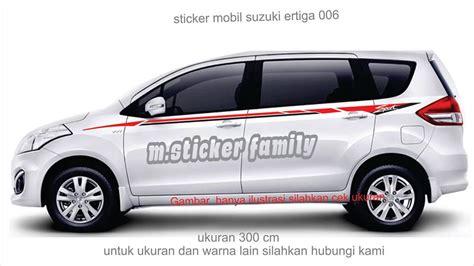 Sticker Family Keluarga Anak Mobil Baby Custom Ertiga Luxio Fskpc 036 jual sticker mobil ertiga list suzuki ertiga 006 m sticker family