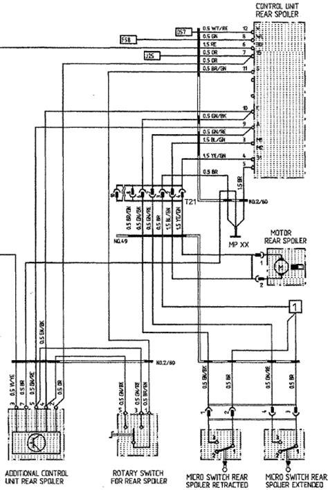 rear wiring diagram 28 images wiring rear wiper motor