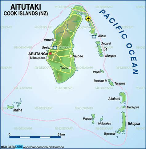 cook islands map world map of aitutaki cook islands new zealand map in the