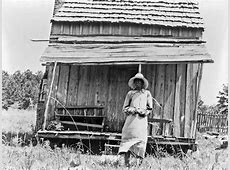 History in Photos: Dorothea Lange - Sharecroppers Sharecropping House