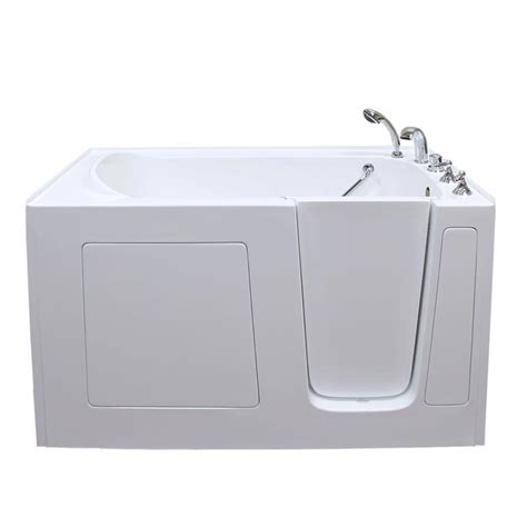 Therapy Bathtubs by Care Series 3060 Soaker Walk In Bathtub By American