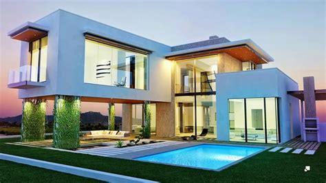 imagenes de casas minimalistas grandes casas minimalistas modernas con piscina youtube