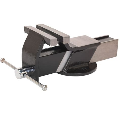 mounting a bench vice sealey steel fabricated bench mounting garage work cling vice 100mm s01081 ebay