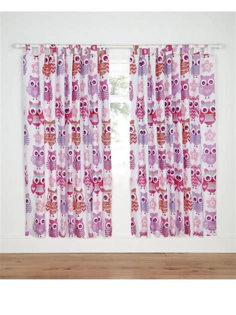 pink owl curtains 17 best ideas about cute curtains on pinterest beautiful