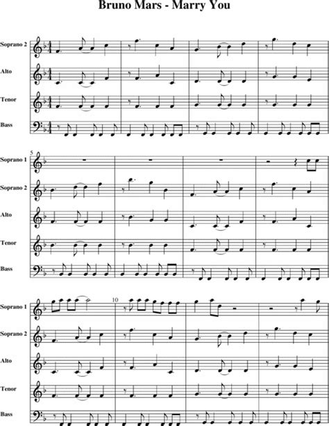 free download mp3 bruno mars marry you remix bruno mars marry you download sheet music