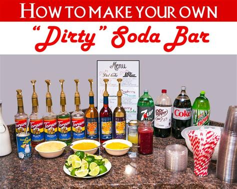 printable bar recipes 1000 ideas about italian soda bar on pinterest italian